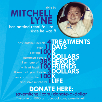 Facebook Campaign to Save Mitchell.